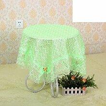 Garten Drache Flower Tuch/ runder Tisch-Servietten/ Mütze Schal/Tischdecken/Spitzen Tischdecke-C 100x100cm(39x39inch)