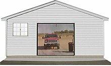Garten Einzehl Auto Garage Tür Bildschirm