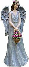 Garten-Engelchen-Statue, kleines Mädchen-betende