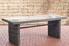 Garten Esstisch Fontana XL-rund/graumeliert
