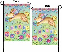 Garten flag-bouncing Bunny