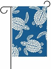 Garten-Flaggen, Meeresschildkröten, festliches