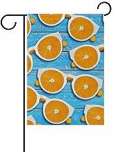 Garten-Flaggen, Sommerbrille, orange, festliches