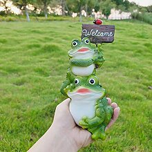 Garten-Frosch-Skulptur-Garten Kreative Simulation