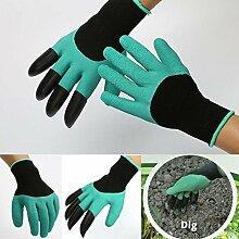 Garten Genie Handschuhe (2Paar), dehnbar