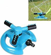 Garten Gewächshaus Mobile Automatische 360Grad Rotary Spray Head Garten Rasensprenger Bewässerung bewässern Supplies ^