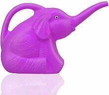 Garten Gießkanne Elefant Kinder Kinder Spielzeug Kunststoff Lila