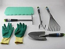 Garten Hand Werkzeuge Set Beet Rechen Grubber