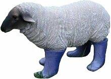 Garten Liebhaber klein Schafe in Stiefel Garten