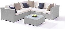 Garten Lounge Polyrattan Gartenmöbel Eck
