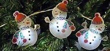 Garten Mile 10x Weihnachtsmann oder Schneemann