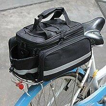 Garten Mile® Erweiterbar Schwarz Bike Fahrrad