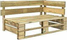 Garten-Paletten-Eckbank Holz 28883 - Topdeal