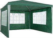 Garten Pavillon 3x3m mit 3 Seitenteilen -