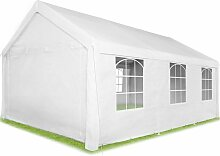 Garten Pavillon 6x4m mit 4 Seitenteilen -
