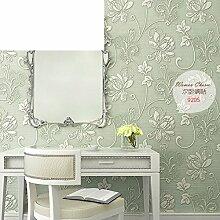 Garten Schlafzimmer Hintergrundbild/Iris Vlies Tapete/Wohnzimmer Green TV Hintergrundbild-B