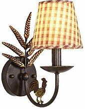 Garten Schmiedeeisen Lampe Kinder Plaid Lampe