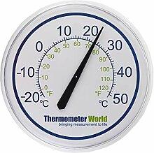 Garten-Thermometer, groß, 300mm, für Innen-