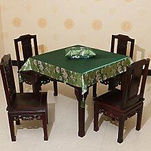 Garten Tisch Läufer Seidentuch,Stuhl Bezugsstoff Essen Tischdecke,Tabelle Läufer Tabelle Tuch Tischdecke,Tuch Tuch-H 150x210cm(59x83inch)