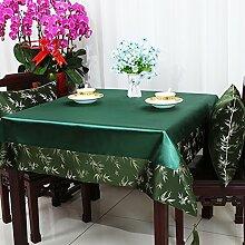 Garten Tisch Läufer Tischdecke,Stuhl Abdeckung Stoff Tabelle Tuch Tischdecke,Table Runner Stoff Tischdecke Tischtuch Tischdecke-S 120x160cm(47x63inch)