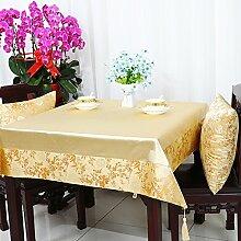 Garten Tisch Läufer Tischdecke,Stuhl Abdeckung Stoff Tabelle Tuch Tischdecke,Table Runner Stoff Tischdecke Tischtuch Tischdecke-L 140x190cm(55x75inch)