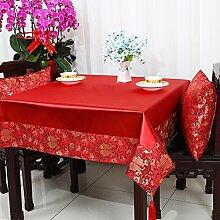 Garten Tisch Läufer Tischdecke,Stuhl Abdeckung Stoff Tabelle Tuch Tischdecke,Table Runner Stoff Tischdecke Tischtuch Tischdecke-T Durchmesser150cm(59inch)
