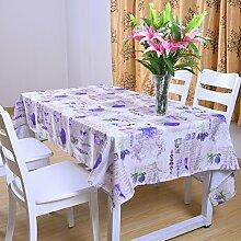 Garten Tisch Tuch,Art Rechteckige Tischtuch,Tischtuch-F 150x260cm(59x102inch)