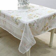 Garten Tisch Tuch Tischtuch,Tabelle Matte Handtuch Geschirrtuch-A 90x90cm(35x35inch)