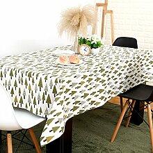 Garten-Tischdecke/Baum Tischdecke/Einfache und moderne Tischdecke/Tischtuch/Abdeckung Tuch-A 140x140cm(55x55inch)