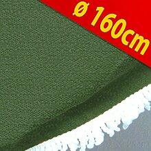 Garten Tischdecke Gartentischdecke Decke Ø160cm grün