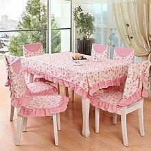 Garten Tischdecke/längliche Tischdecke/Tischdecken/Tuch/moderne minimalistische Tischdecke-B 150x150cm(59x59inch)
