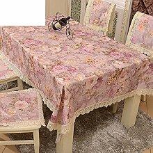 Garten-Tischdecke/Tischdecke decke/Tischdecken/Round Table Spitze Couchtisch Abdeckung Handtuch/Spitzen Tischdecke-C 60x60cm(24x24inch)