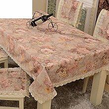 Garten-Tischdecke/Tischdecke decke/Tischdecken/Round Table Spitze Couchtisch Abdeckung Handtuch/Spitzen Tischdecke-D 150x150cm(59x59inch)