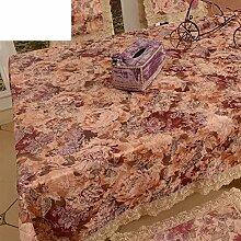 Garten-Tischdecke/Tischdecke decke/Tischdecken/Round Table Spitze Couchtisch Abdeckung Handtuch/Spitzen Tischdecke-A 90x90cm(35x35inch)