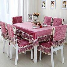 Garten-Tischdecke/Tuch/ Leinen Tabelle Tuchgewebe/Tischdecke decke/Tischdecke decke/Rundtischdecken/Tischdecken-A 150x150cm(59x59inch)