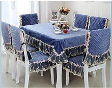 Garten-Tischdecke/Tuch/ Leinen Tabelle Tuchgewebe/Tischdecke decke/Tischdecke decke/Rundtischdecken/Tischdecken-B 130x130cm(51x51inch)
