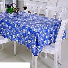 Garten-Tischdecke/ Wasser und Öl Beweis Tischdecke/Einweg-Plastik Tischdecke/PVCMatte/Tischdecke decke/ Öl-Tischdecke-A 106x152cm(42x60inch)