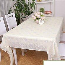 Garten-Tischdecke/Wasserdichte Plaid/Tischdecke decke/Tischdecke decke/Einfachen und modernen Esstisch Pad/Tischdecken-G 137x180cm(54x71inch)