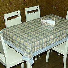 Garten-Tischdecke/Wasserfeste Einweg-Tischdecke/ Stoff-Tischdecke/Tischdecke decke/ Öl-Mat/pvcEinfache und moderne Tischdecke-G 137x180cm(54x71inch)