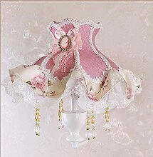 Garten Tuch Wandlampe Kreative Prinzessin Mädchen