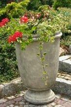 Garten- und Pflanzgefäß TUMBA Steinguss