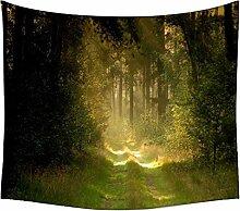 Garten und Wald Wandteppichen indischen Mandala Tapisserie Dekorative Wohnheim Wandteppichen Beach Picknick Tabelle Hippie Tapisserie Wand, Bohemian