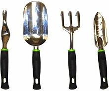 Garten Werkzeug Set, schwarz, 10016