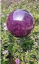 garten-wohnambiente Beetstecker Rosenkugel auf