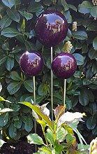garten-wohnambiente Rosenkugel 20-15-10 cm