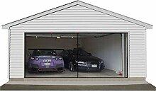 Garten Zwei Auto Garage Tür Bildschirm Vorhang,