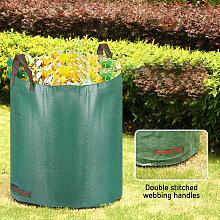 Gartenabfallsack 500L,Laubsack Gartensack mit