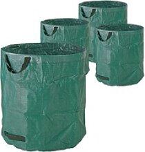 Gartenabfallsack Laubsack Gartensack 272 Liter 4er