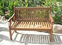 Gartenbank 3-Sitzer Eukalyptus FSC® Hartholz natur Parkbank