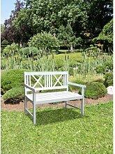 Gartenbank Antonia aus Holz Kampen Living Größe: